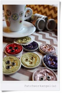 Knöpfe aus Nespressokapseln