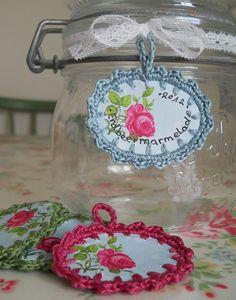 Etiketten für Marmeladegläser