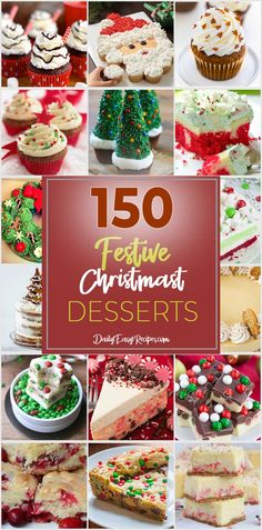 150 Types Of Desserts For Festive Christmas