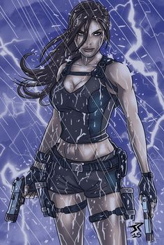 Lara Croft Underworld by JonathanPiccini-JP.deviantart.com on @DeviantArt