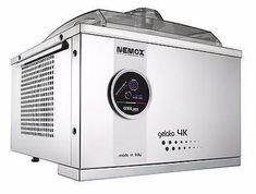 Nemox Gelato 4k Touch Ice Cream Machine – Mini PC Caffe Gelato Machine, Gelato Maker, Commercial Ice Cream Machine, Small Restaurants, Industrial Restaurant, Sorbet, Stainless Steel Case, The Unit, Touch