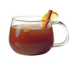 Apple-Ale Wassail     Cozy up by the fire with a warm apple-ale flavored with allspice, cinnamon, cloves, and cardamom.