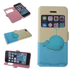 Big Dragonfly Iphone 5 5S Pu Leather Phone Case Cover with Whale in Sea Pattern & Built-in Stand & Magnetic Button & Transparent Time Window Viewer (Blue Beige) Big Dragonfly http://smile.amazon.com/dp/B00L8Q2Y4A/ref=cm_sw_r_pi_dp_.Rz0tb0GHRAT8NMW
