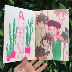 Girls and Plants zine by BijouKarman on Etsy