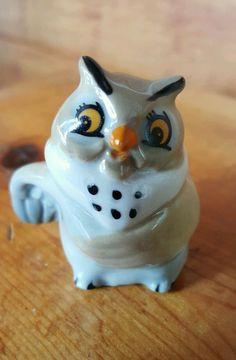 DISNEY BIG MAMA OWL Wade England Figurine Fox and Hound Collectible