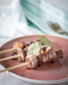 American style BBQ: Bacon bourbon chicken kebab | By Andrea