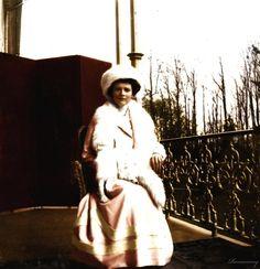 Grand Duchess Tatiana Nikolaievna Romanov Tatiana wrapped in furs by ~VelkokneznaMaria on deviantART