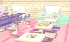 i've made cute 50s diners in every version of ac, so i figured i should continue the tradition ! 0695-7775-036