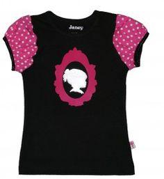 Zwart Maaike shirt