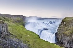 Anyone who visits Iceland knows they need to add this majestic marvel to the top of their list. The water falls into a deep crevice, so as tourists approach the natural wonder, the water seems to disappear into the center of the Earth.