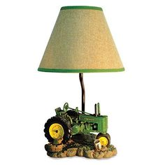 Vintage John Deere Table Lamp