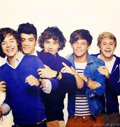 One Direction I love them:)