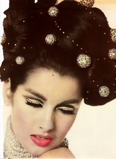 Veronica Hamel 1965 - Makeup by Pablo Manzoni