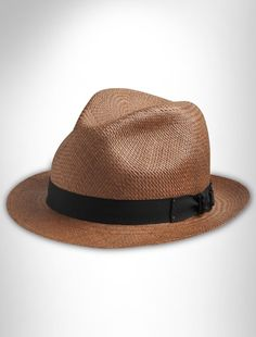 2044e432fbc7 Bailey of Hollywood® Tatem Panama Hat This topper is made of handwoven  straw from Ecuador