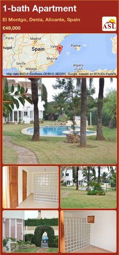 1-bath Apartment in El Montgo, Denia, Alicante, Spain ►€49,000 #PropertyForSaleInSpain