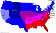 Dialect Map of American English