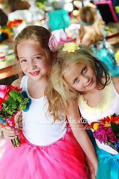 fun for little girls - tutus all around