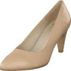 Vagabond - Esther 4139-001-12 Almond Beige Shoes, Peeps, Almond, Peep Toe, Fashion, Moda, Fasion, Fashion Illustrations, Fashion Models