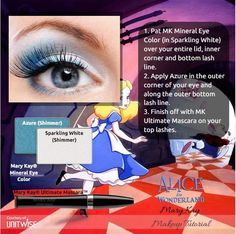 Disney Alice in Wonderland inspired Mary Kay Look! http://www.marykay.com/mistinovotny