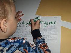 "A handwriting ""worksheet"" generator"