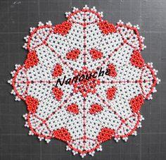 "napperon ""valentino"" -modele stefania tizzani"