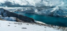 Yamzho Winter Panorama - Tibet by Stefan Forster