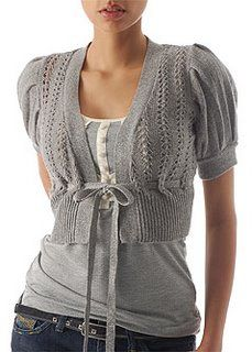 Love this cute little bolero sweater ♥