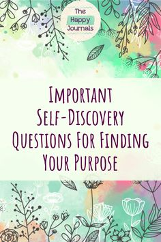 Important Self-Discovery Questions For Finding Your Purpose Self Confidence Tips, Confidence Boosters, Confidence Building, Personal Development Plan Template, Self Development, Be Yourself Quotes, Finding Yourself, Morning Pages, Self Motivation