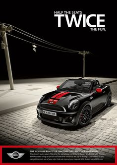 Mini Driver, Car Advertising, Classic Mini, Cool Posters, Old Cars, Convertible, Adventure, Mini Coopers, Mini Cabrio