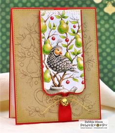 Partridge in a Pear Tree Digital Stamp Set | Power Poppy by Marcella Hawley