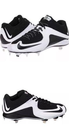 Mens 159059: Nike Mvp Strike 2 Low Metal Baseball Cleats Men S Size 11 Bandw