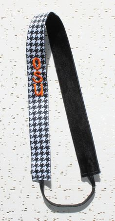 Black & White Houndstooth OSU Inpired No Slip Sweaty Band Athletic Headband Headwrap In Newborn, Baby, Toddler, Child, Kid, Teen, & Adult Sizes! No Slip Headache Free Headbands are Perfect for Team Sports, Cheer, Vollyeball, Running, Yoga, Basketball, Matching Mother Daughter Sister Twin Friend Matching Family Photos, Photo Props, Sorority Bid Day Gifts, Big Little Gifts, Rush, Wedding Bridal Shower, Flower Girl, Bridesmaid, New Baby Gifts, Baby Shower Gifts,& Birthday Gifts by petesboutique