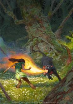 'Elf and Hellhound' by Craig Elliott