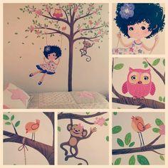 #mural #paintedwall #vinilo #arteenvinilo #merylaura #ilustradora #ilustradorescolombianos #artist #illustrator #drawing #draw #illustration #madeincolombia