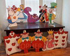 Wonderland Wonderland twins Wonderland party by aPROPerParty
