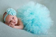 Aqua lavender pink tulle tutu, matching headband, newborn photo prop, newborn tutu ,baby gift, newborn picture outfit de BBMCreations en Etsy https://www.etsy.com/es/listing/198217644/aqua-lavender-pink-tulle-tutu-matching