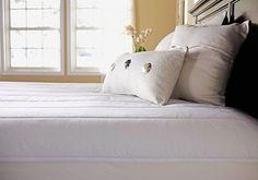 Sunbeam Vertical Quilted Heated Mattress Pad with ComfortTech Controller, Queen #Sunbeam