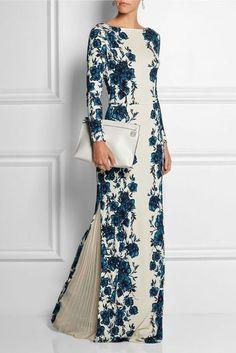 Look! Шикарные макси платья с цветочным принтом! 4