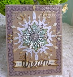 By stamping with bibiana; limoges snowflake from memory box. christmas card featured as well at the french blog Un brin de créativité for Memory Box. details at my blog