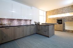 Rot Punkt kitchen, natural wood look