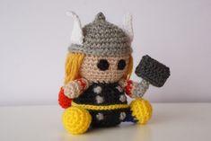 Thor Superhero Amigurumi Pattern by Amigurumeria