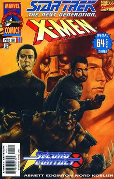 X-Men and Star Trek: The Next Generation
