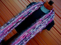 Pink Scarf and Photo Prop Fringe O Rama Pink by CricketsCreations,