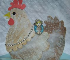 Chicken Template | the chicken template is from cardmakingparadise com visit them by