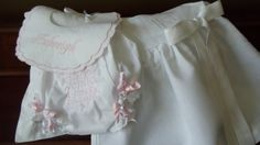 Baby and Toddler Girl White Linen Dress with Hemstitching Monogrammed  Birthday, or Christening Dress on Etsy, $68.00