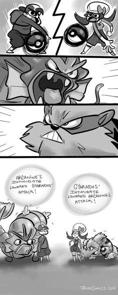 Pokémon - Intimidate