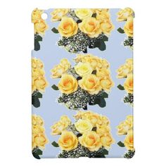 Yellow Roses Wedding Items Case For The iPad Mini