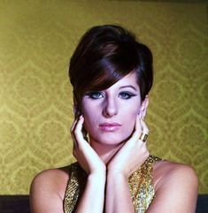 Barbra Streisand, 1965.  Such a great, timeless voice that stretches over the generations.