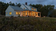 Dash Landing Farmhouse, Freeport, Maine | Whitten Architects
