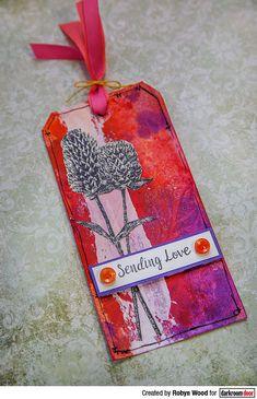 Tag by Robyn Wood using Darkroom Door Warm Wishes Stamp Set